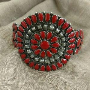 Vintage Southwest petitpoint bracelet